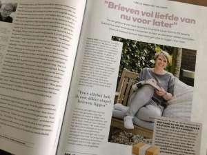 Verhaal Sabine Brieven van nu voor later in Libelle