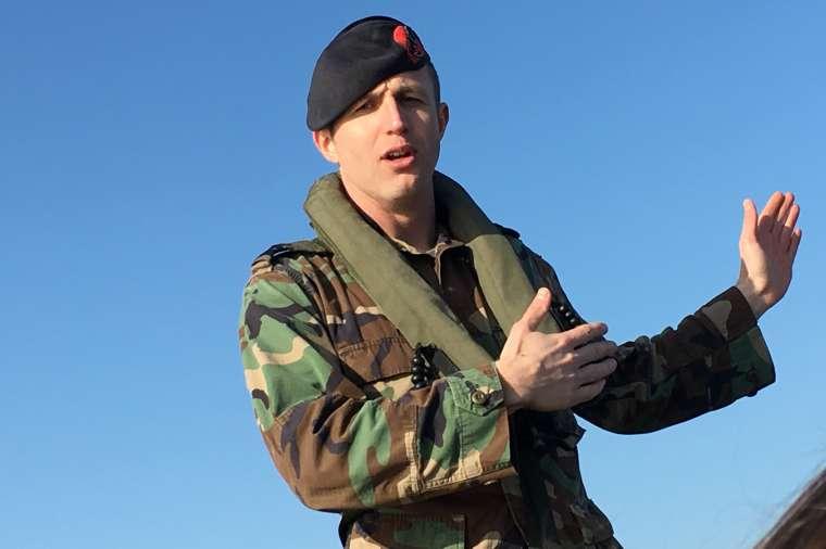 Marinier voor één dag met NIMA Internal Branding