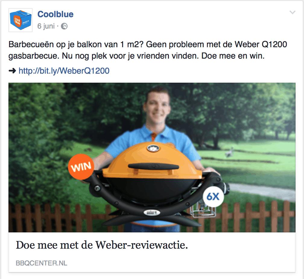 Coolblue Weber posting